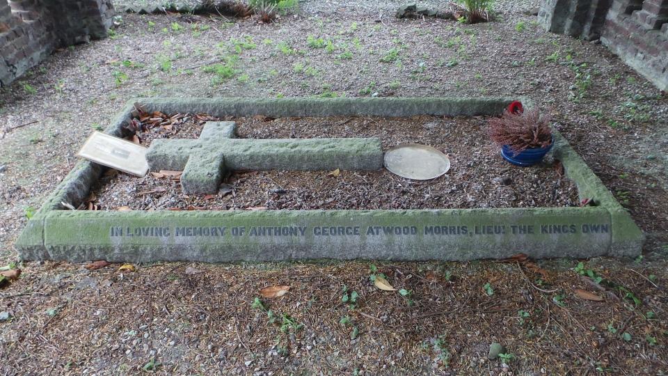 The Morris grave.