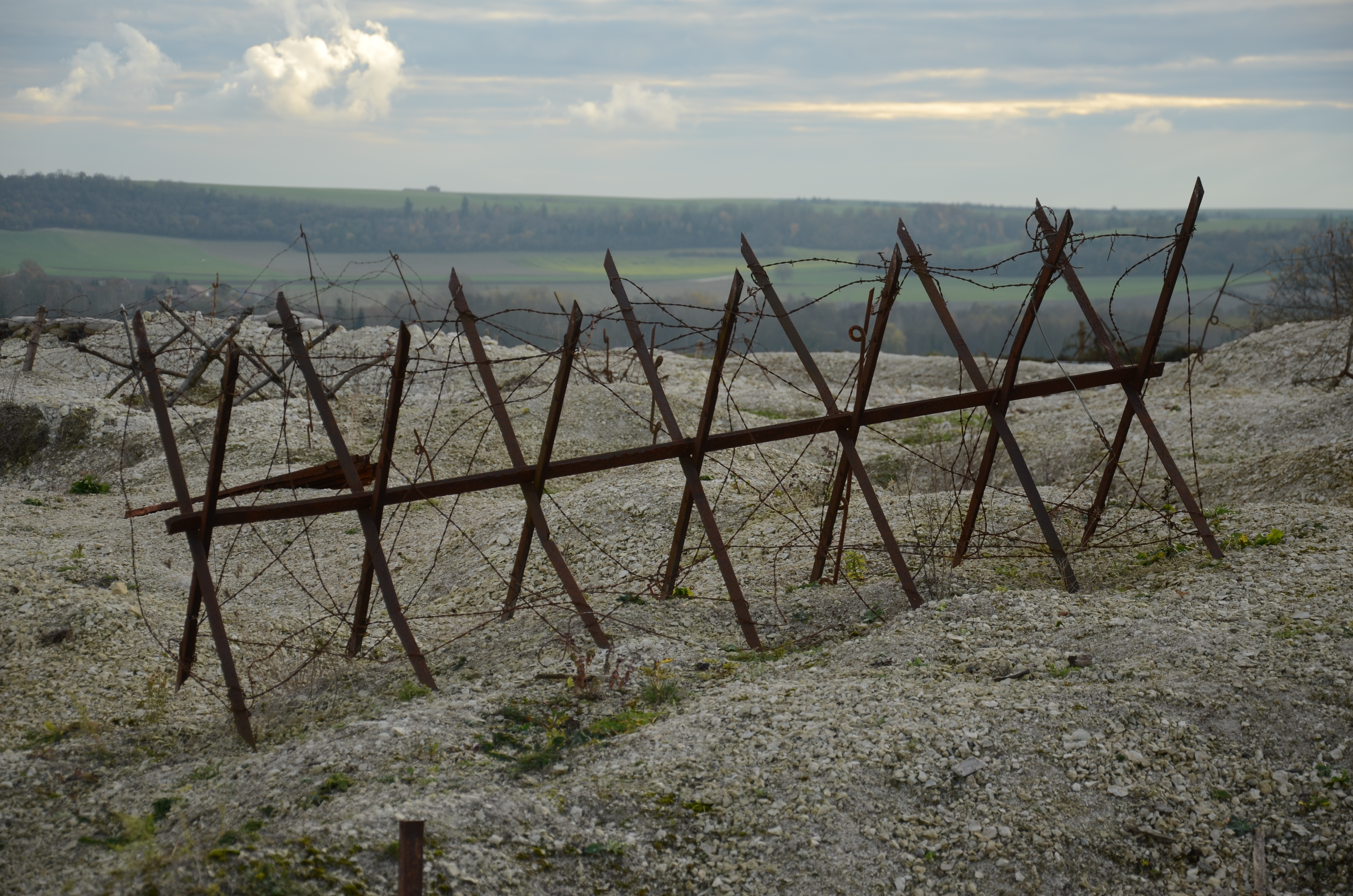 Champagne ww trenches at massiges revisited