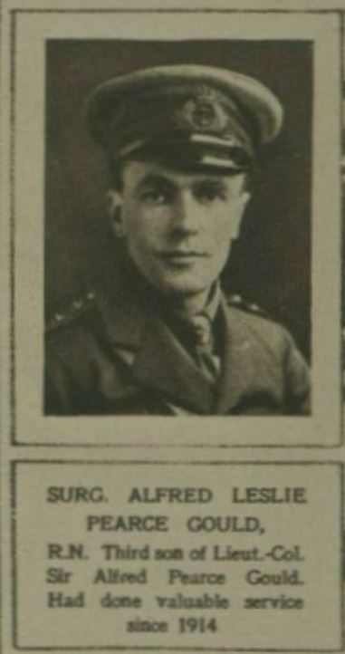 Forceville: Surgeon Lieutenant A.L, Pearce Gould