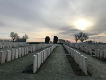 Mill Road Cemetery, Thiepval - Winter 2019