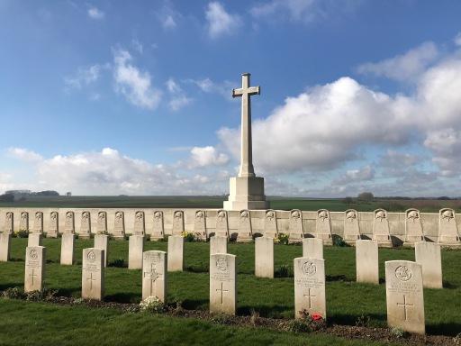 Louvencourt Military Cemetery