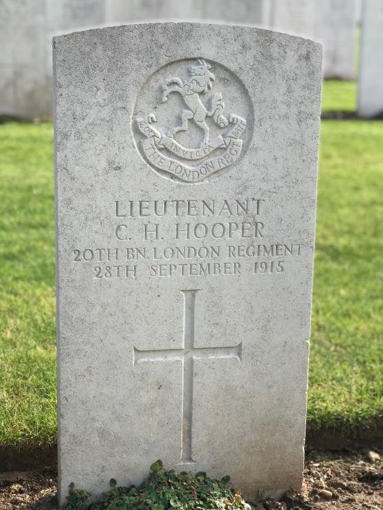 Le Treport: Lt C.H. Hooper