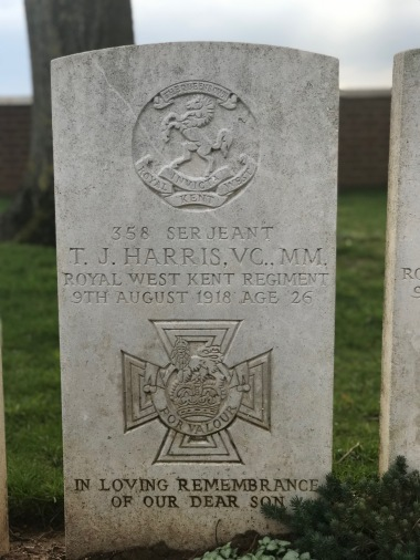 Dernancourt: Sgt T.J. Harris VC