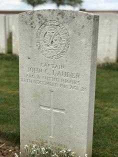 Ovillers: Capt J.C. Lauder