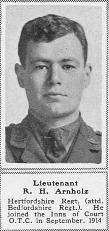 ADANAC: Lt R.H.P. Arnholz
