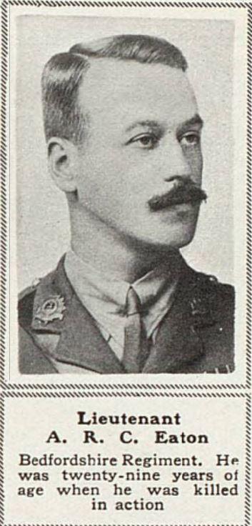 ADANAC: Lt A.R.C. Eaton