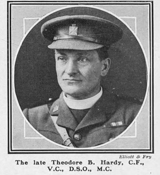 St Sever Cemetery Extension: Rev Theodore Hardy VC