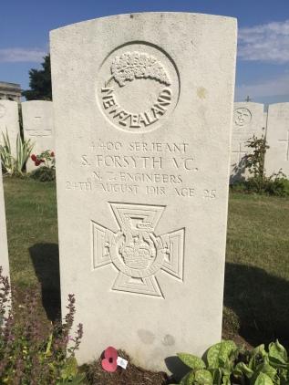 ADANAC: Sgt S. Forsyth VC NZEF