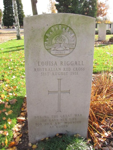 St Sever: Louisa Riggall