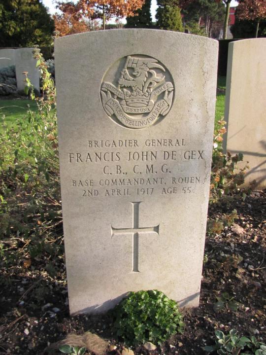 St Sever: Brig-Gen F.J. De Gex