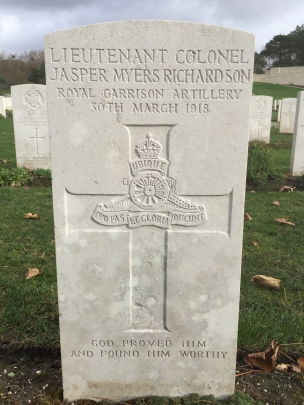 Etaples: Jasper Myers Richardson