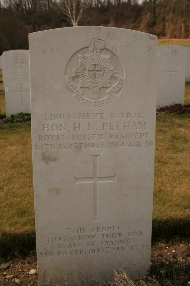 Vendresse: Lt H.L. Pelham