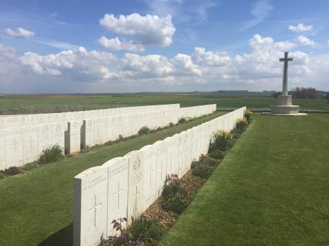 Redan Ridge No 1 Cemetery