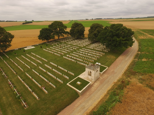 Courcelette British Cemetery